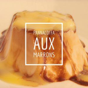 pannacotta aux marrons