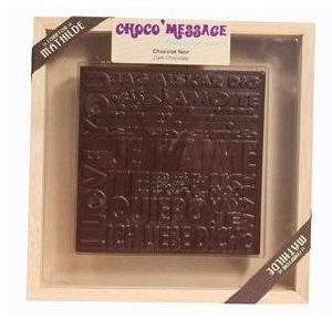 Chocolat plaque fête des mères